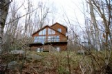 Canaan Valley mountain chalet (delux cabin)