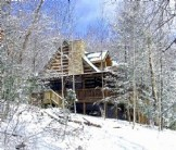 Custom Log Home, Secluded But, Close in to Town