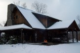 Timber Top Lodge is One of a Kind Log Home on 8 Pr